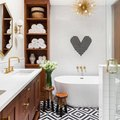 A Custom Touch Creates an Unforgettable Bathroom Design