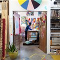 "This ""Broad City"" Artist's Studio Changes Every Day—It's Always Alive and Crazy and Moving"
