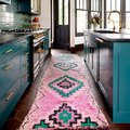 We Can't Get Enough of This Turquoise and Pink Kitchen