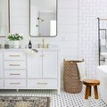 Go Ahead, Mix and Match Your Bathroom Tile