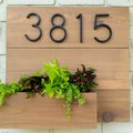 Part Planter + Part House Number Display = Your Weekend Project
