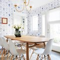 The Cheery Wallpaper in This Dining Room Is to Die for (Find out Where to Buy It)