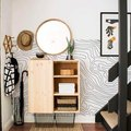 Whimsical Wallpaper Makes Entryway Design Magic