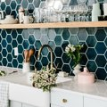 We Confess: These 8 Green Kitchen Backsplash Ideas Are Making Us Downright Envious