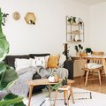 Prepare to Fall in Love With (and Then Copy) This Minimal Jungalow Living Room