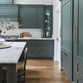 These 7 Verdant Paint Colors Are Tempting Us to Satisfy Our Green Kitchen Craving
