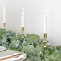 DIY Table Runner Using Eucalyptus Leaves