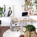 How to Create a Beautiful Home Office With Just a Few Square Feet