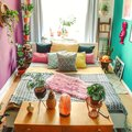This Bedroom Proves There's No Such Thing as Too Much Color