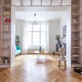 A Prague Flat Proves You Can Display Lots of Stuff in a Way That Feels Minimalist