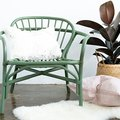 The Absolute Easiest Tutorial on How to Paint a Rattan Chair