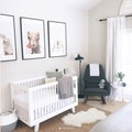 Prints of Animals Are Right at Home in This Sweet Nursery