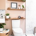 Where to Get Everything From This Millennial Pink Bathroom Makeover
