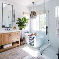Bathroom In Need of a Refresh? Two Words: Black Hardware