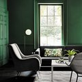 11 Enviable Green Living Rooms
