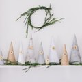 This Holiday Advent Calendar Is Actually Paper Trees, and It's Beyond Lovely