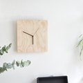 To Make This Modern Chic Plywood Clock, Follow Our Easy DIY