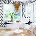 Whoa: Tiled Walls in a Breakfast Nook Totally Caught Us Off-Guard