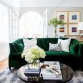 A Small, Historic Apartment Gets a Colorful Paint Job