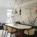Looking for a Dining Room Wall Idea? We Have One Word for You: Wallpaper