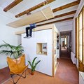 This Barcelona Apartment's Suspended Desk Is for Literal Over-Achievers