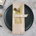 Every Scandinavian Dining Room Needs This DIY Flatware Pocket