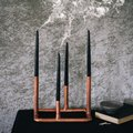 DIY Copper Candelabra = Spooky Chic Halloween Decor