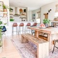 This Bright and Breezy Dining Room Design Is Basically Perfection