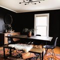 8 Black Dining Room Ideas That Prove Bold Color Is the Best Way to Set the Mood
