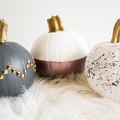 3 Modern Ways to Decorate a Pumpkin (No Carving Required!)