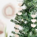 Use Raw Wood to Create Easy, Scandi-Inspired Christmas Ornaments