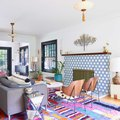 This Portland Colonial Once Had a Fainting Room — Now It's a Colorful, Boho Home