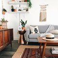 Boho Meets Southwestern in This Uplifting Living Room Design
