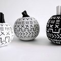 These Mud Cloth Pumpkins Are Super Cute DIY Fall Decor