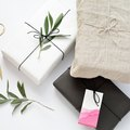 DIY Gift Wrap Ideas Using Foliage, Fabric, and Naturally Dyed Tags
