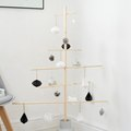 DIY Scandinavian Inspired Wooden Christmas Tree to Use for Years to Come