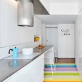 Rainbow Floors in a Montmartre Apartment Are Très Awesome