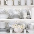 How to Arrange Dishes in a China Cabinet