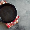 How to Clean a Cast-Iron Frying Pan