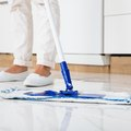 How to Get Easy-Off Oven Cleaner Off of a Linoleum Floor