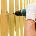 How to Install Chain Link on Wood Posts