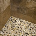 How to Install an Inexpensive Pebble Floor