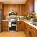 How to Make Stained Wood Kitchen Cabinets Look Fresh