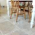 How to Stain Travertine Tile