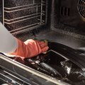 How to Clean Baked on Stains in a Self Cleaning Oven
