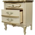 How to Refinish Furniture in White French Provincial Style
