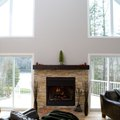 How to Adjust a Gas Log Fireplace Flame