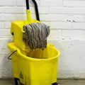 How to Use a Mop Bucket Wringer