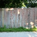 How to Install Wood Fencing Panels Using Existing Wood Fence Posts