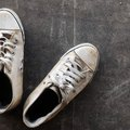 How to Remove Stains From White Tennis Shoes